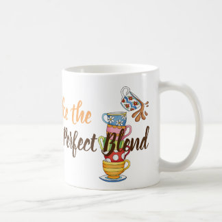 Caneca do clássico do café e do amigo