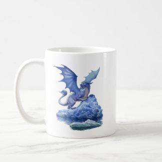 Caneca do clássico do dragão do gelo