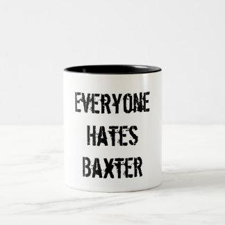 Caneca do clube de fãs de Baxter
