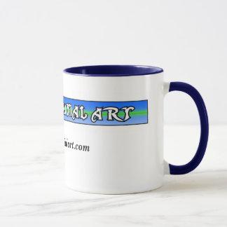 Caneca do cofee da arte de Dquential