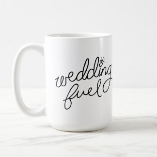 Caneca do combustível do casamento