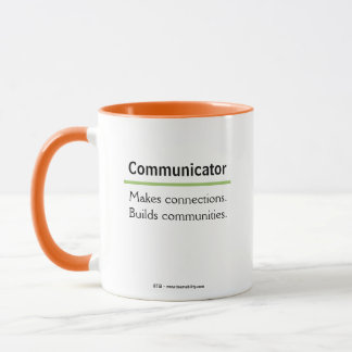 Caneca do comunicador