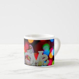 Caneca do copo de café do Natal do comedoiro do