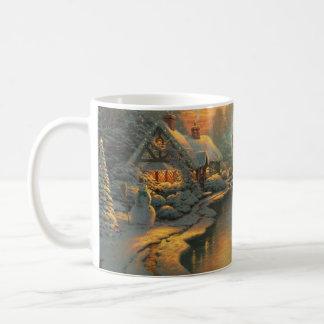 Caneca do copo de chá do leite do café do Natal