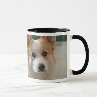 Caneca do Corgi do café