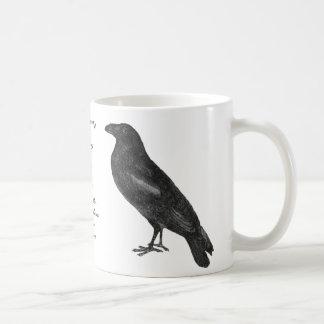 """Caneca do """"corvo"""" do ponto de entrada"""