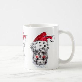 Caneca do crânio de Papai Noel