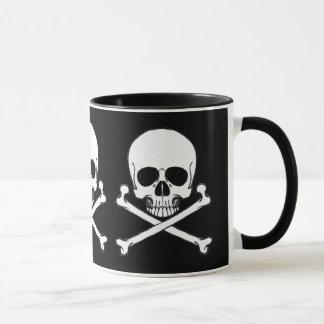 Caneca do crânio do pirata