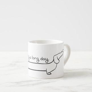 Caneca do Dachshund do café