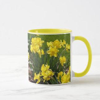 Caneca do Daffodil do salmo 118