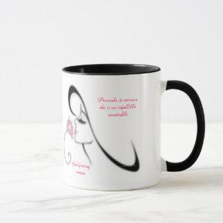 Caneca do desenhista da mulher dos provérbio 31