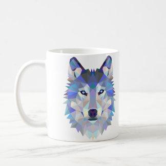 Caneca do design do lobo