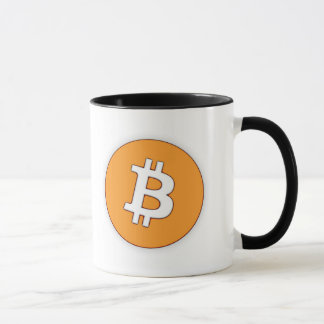 Caneca do destino de Bitcoin