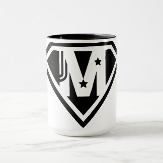 Caneca do dia das mães do Supermom