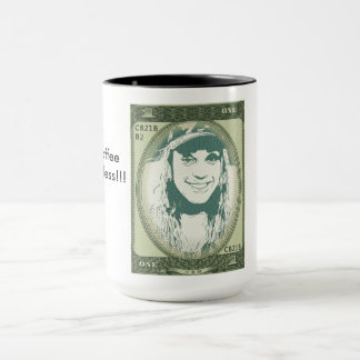 Caneca do dinheiro novo