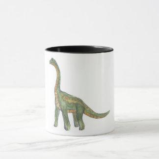 Caneca do dinossauro do Brontosaurus