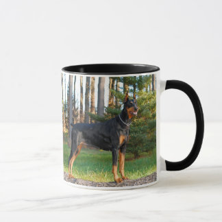 Caneca do Doberman