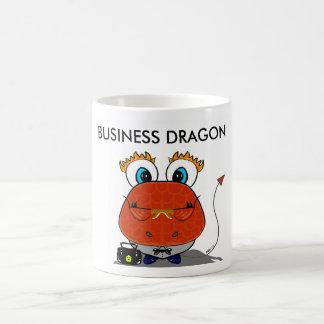Caneca do dragão do negócio
