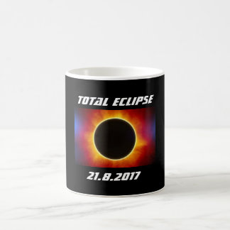 Caneca do eclipse total