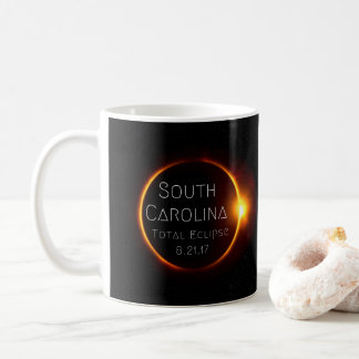 Caneca do eclipse total de South Carolina