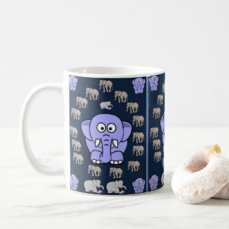 Caneca do elefante das crianças