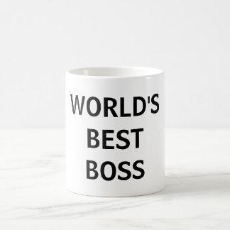 Caneca do escritório do chefe do mundo a melhor