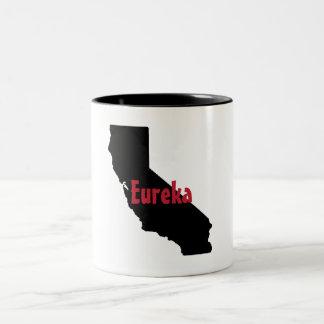 Caneca do estado de Californai - Eureka - caneca