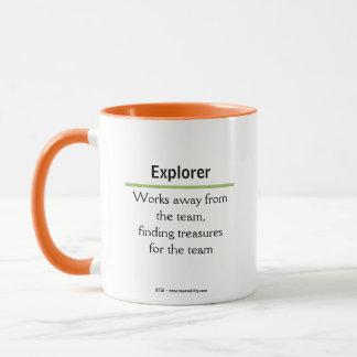 Caneca do explorador