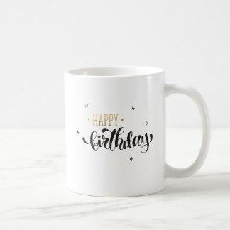 Caneca do feliz aniversario