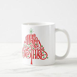 Caneca do feriado de Papai Noel do Feliz Natal