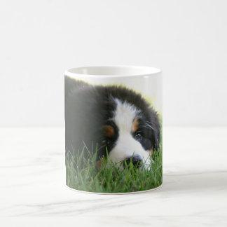 Caneca do filhote de cachorro de Bernese