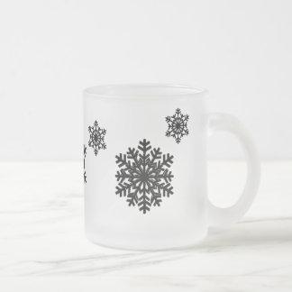 Caneca do floco de neve
