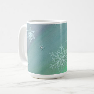 Caneca do floco de neve