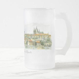Caneca do fosco do castelo de Praga