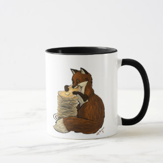 Caneca do Fox da panqueca
