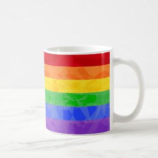 Caneca do Fractal do ziguezague do arco-íris