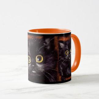 Caneca do gato de Dracula Scaredy do gato