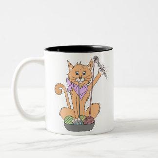 Caneca do gato de Yarnivore