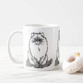 Caneca do gato persa por Nicole Janes