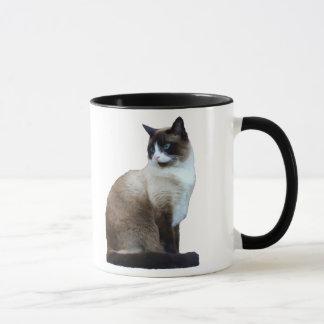 Caneca do gato Siamese