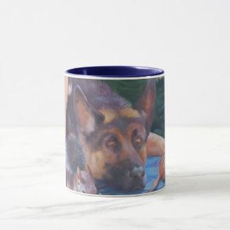 Caneca do german shepherd