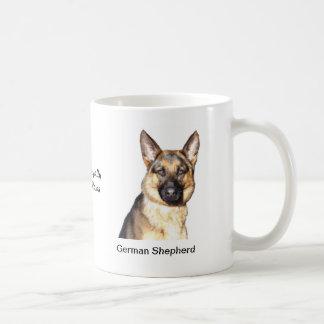 Caneca do german shepherd - com duas imagens e um