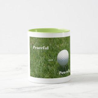 Caneca do golfe