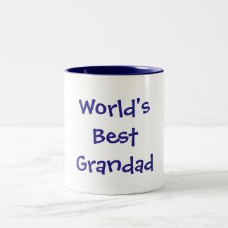 Caneca do grandad do mundo a melhor