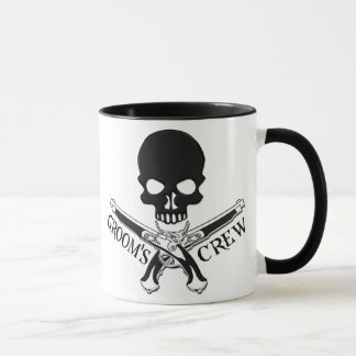 Caneca do grupo do noivo do pirata