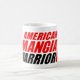 Caneca do guerreiro de Mangia do americano com