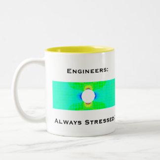 Caneca do humor do engenheiro