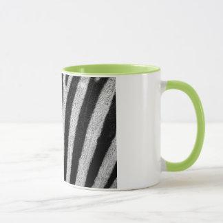 Caneca do impressão da zebra