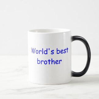 Caneca do irmão do mundo a melhor