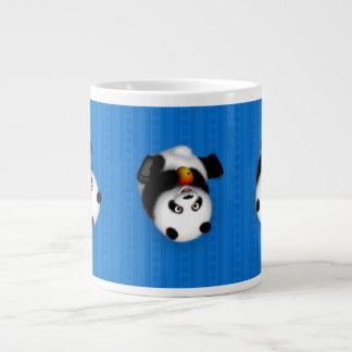 Caneca do jumbo da panda do rolamento